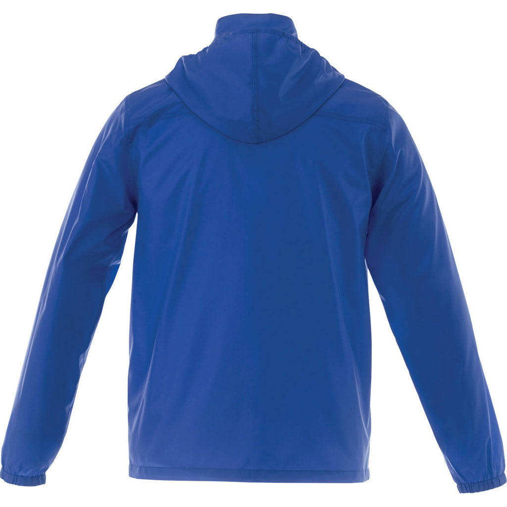 Elevate Men's New Royal Darien Packable Lightweight Jacket