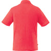 Elevate Men's Team Red Heather Tipton Short Sleeve Polo
