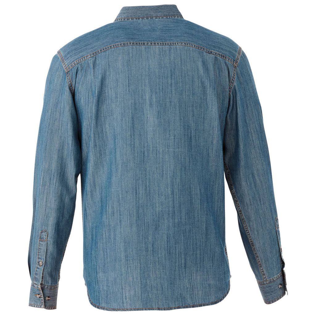 Elevate Men's Denim Sloan Long Sleeve Shirt