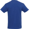 Elevate Men's New Royal Heather/White Monroe Short Sleeve Pocket Tee