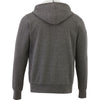 Elevate Men's Heather Dark Charcoal Cypress Fleece Zip Hoody