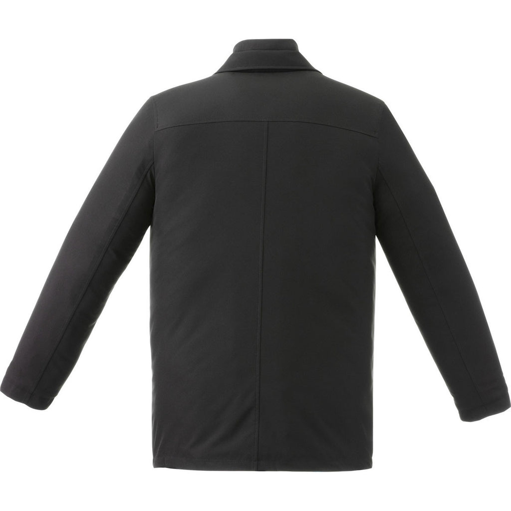 Elevate Men's Black Colby Insulated Jacket