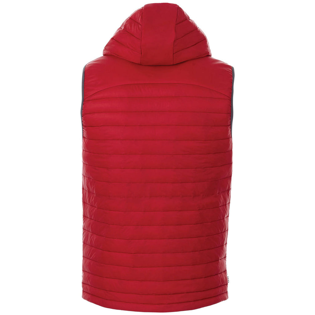Elevate Men's Team Red Junction Packable Insulated Vest