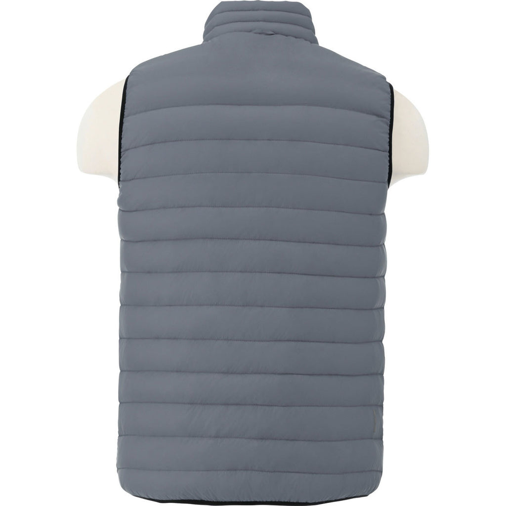 Elevate Men's Steel Grey Whistler Light Down Vest