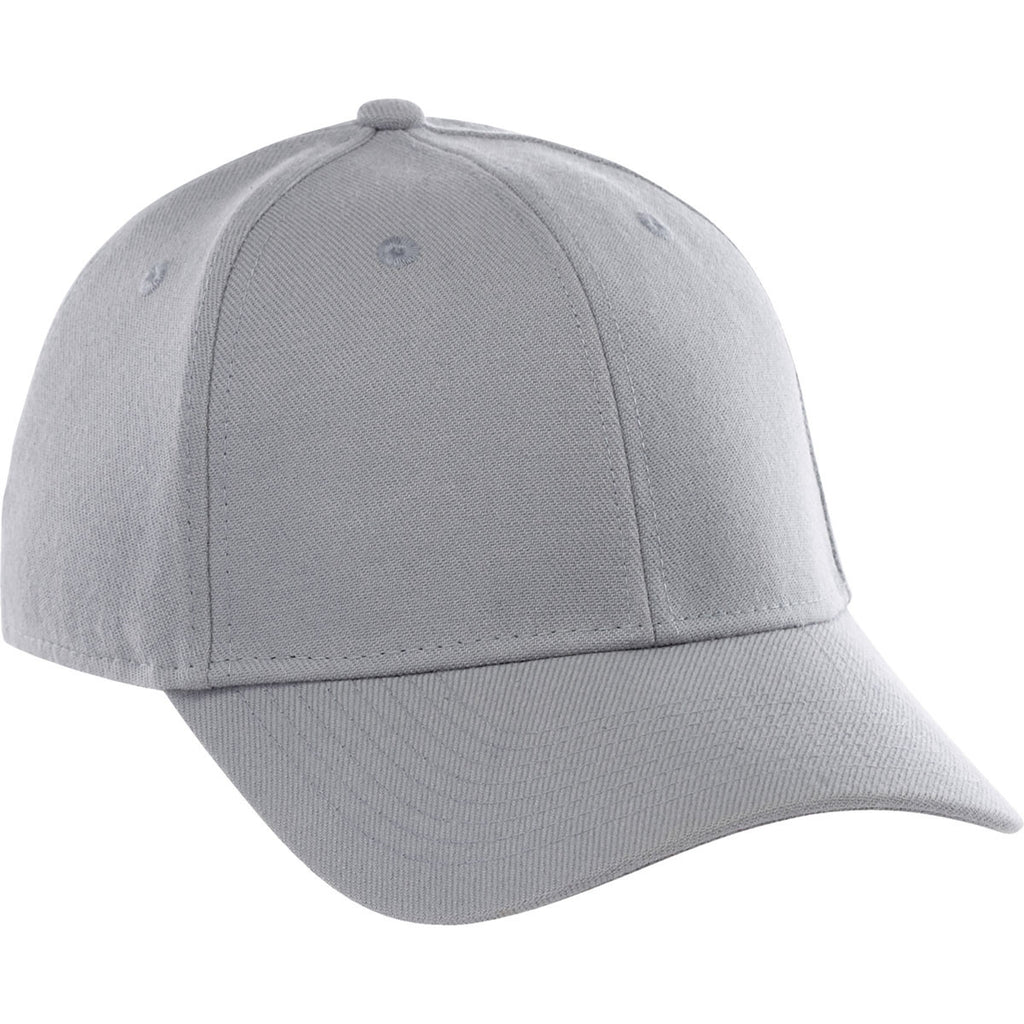 Elevate Silver Acuity Fitted Ballcap. ADD YOUR LOGO 4766299bc54