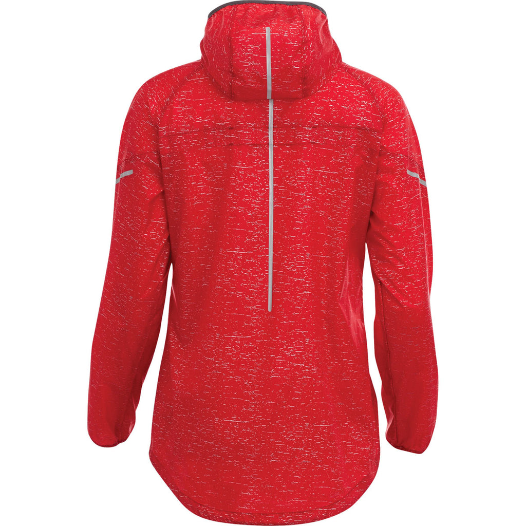 Elevate Women's Team Red Signal Packable Jacket