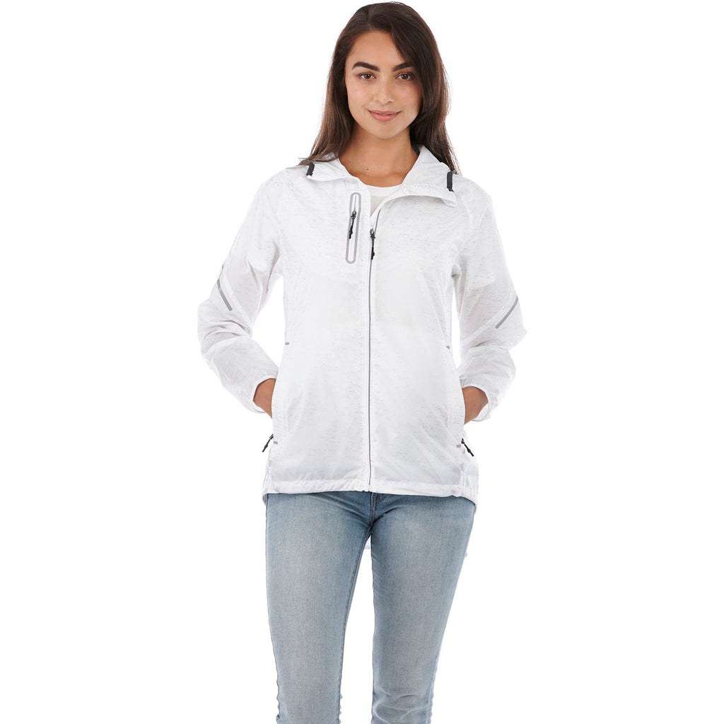 Elevate Women's White Signal Packable Jacket
