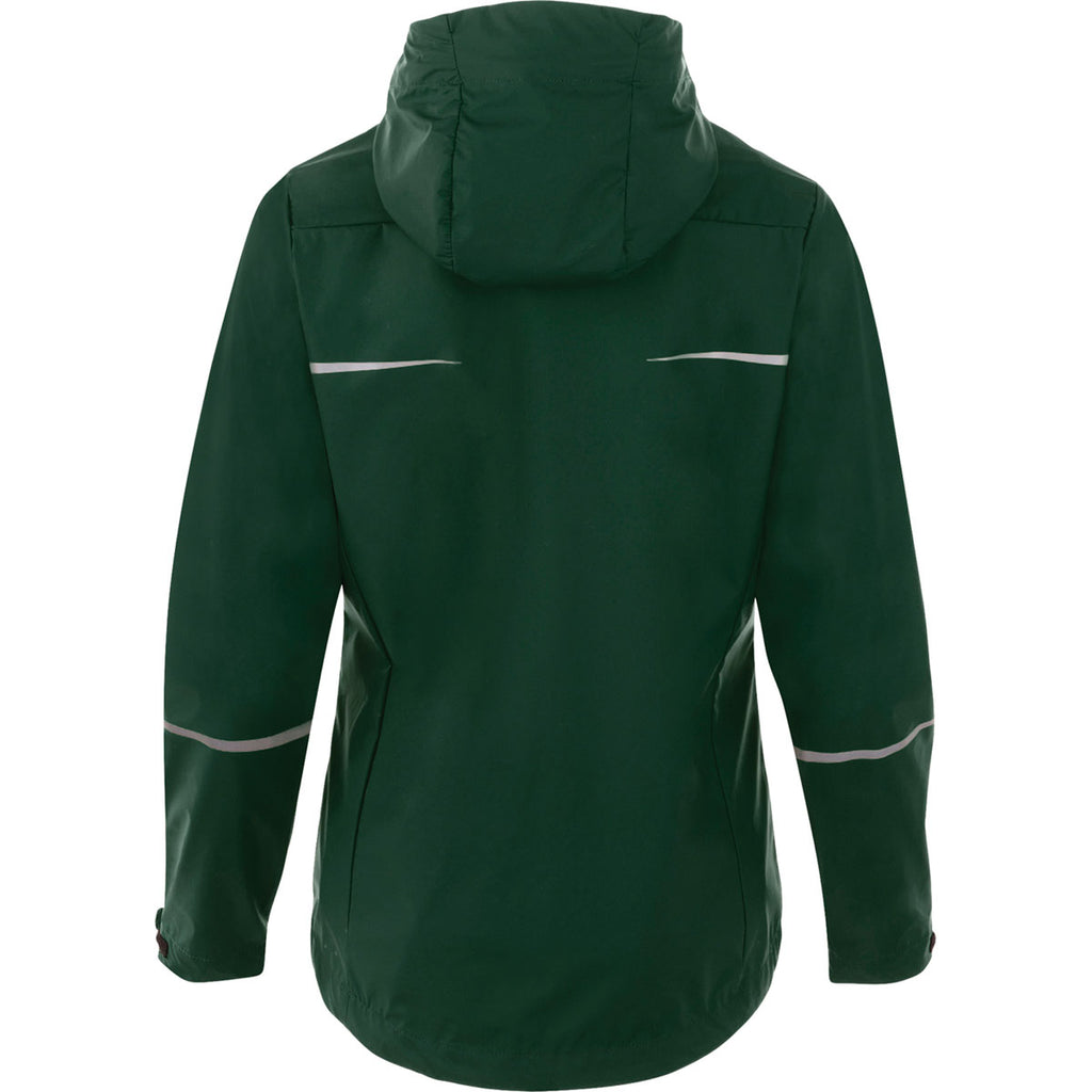 Elevate Women's Forest Green Cascade Jacket