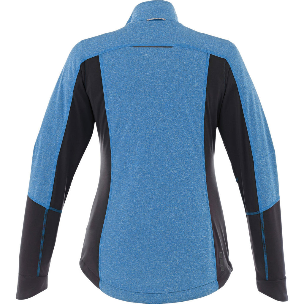 Elevate Women's Olympic Blue Verdi Hybrid Softshell Jacket