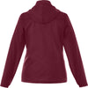 Elevate Women's Maroon Darien Packable Jacket