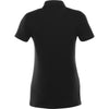 Elevate Women's Black Acadia Short Sleeve Polo