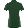 Elevate Women's Forest Green Acadia Short Sleeve Polo
