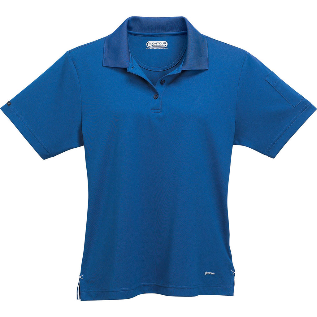 28db487a Elevate Women's Matchstick Pico Short Sleeve Polo
