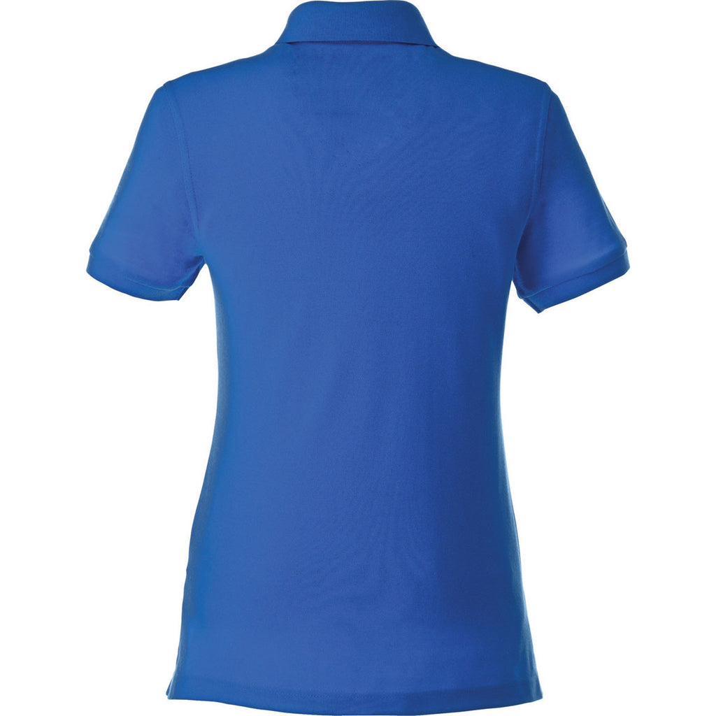 Elevate Women's New Royal Belmont Short Sleeve Polo