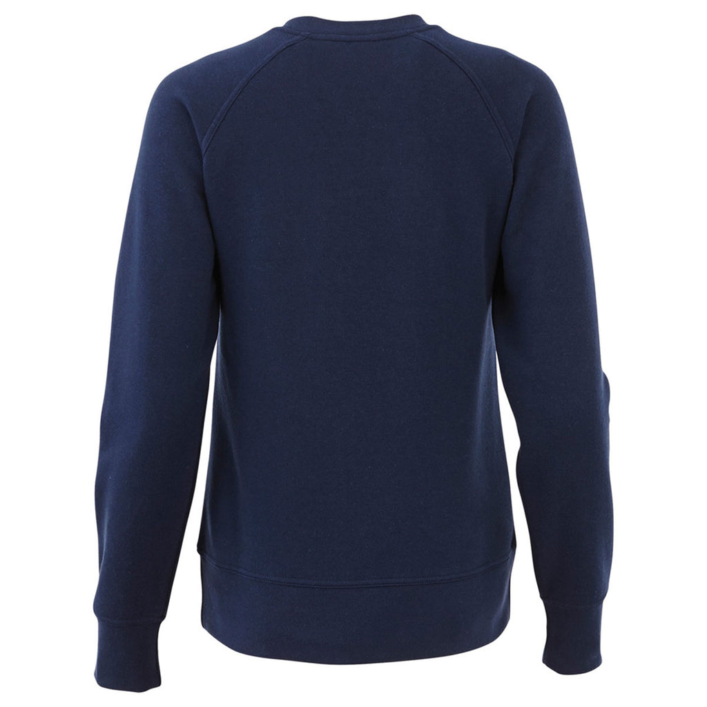 Elevate Women's Vintage Navy Krueger Fleece Crew