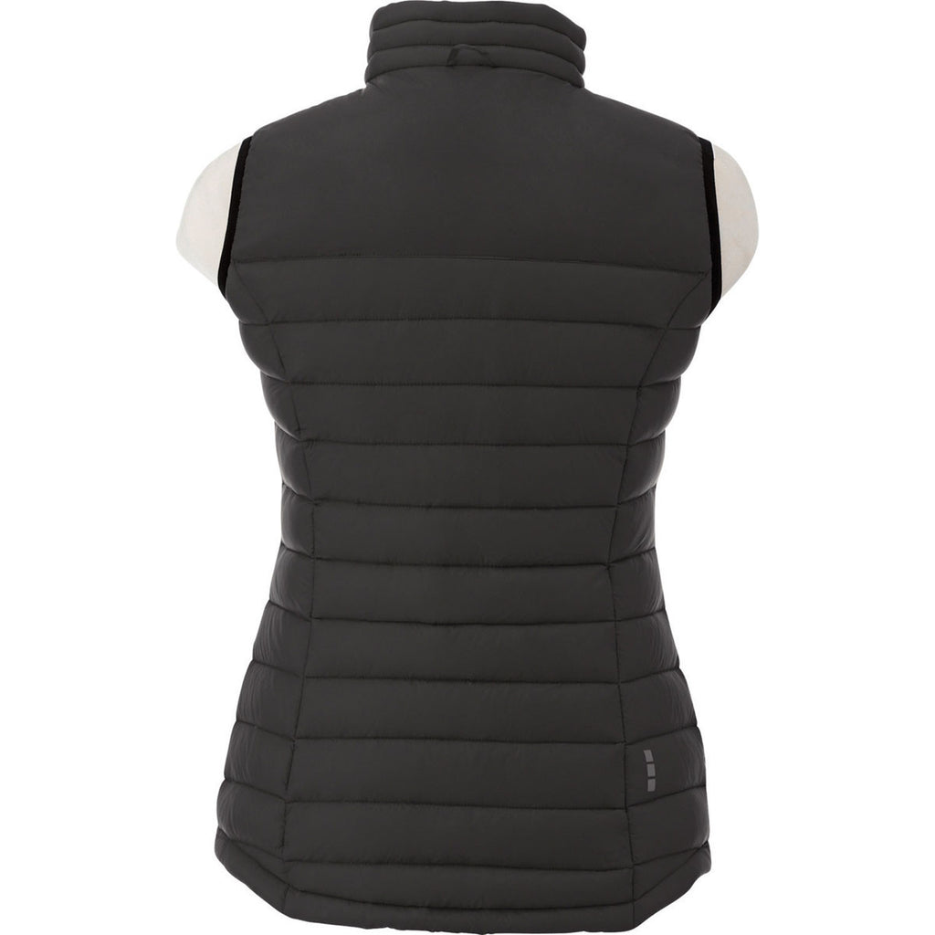 Elevate Women's Black Whistler Light Down Vest