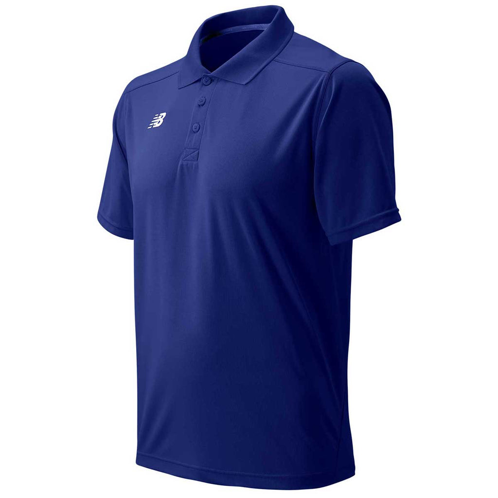 New Balance Men's Team Royal Tech Polo