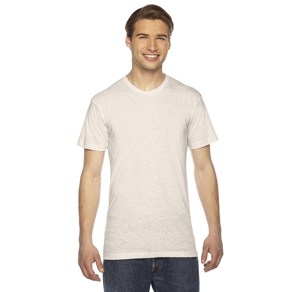 f16c4ee40a7 American Apparel Unisex Triblend Short-Sleeve Tri Oatmeal Track T-Shir