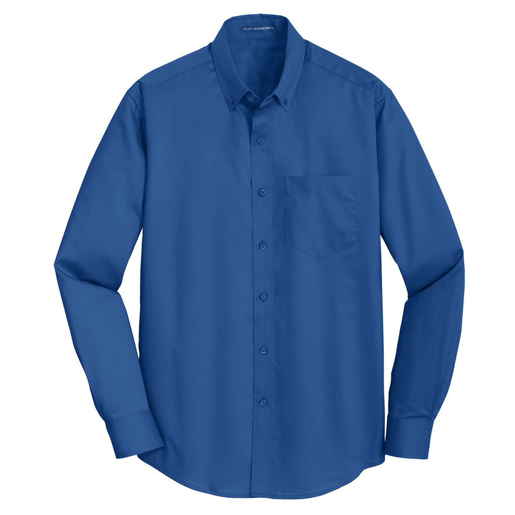 TS663 Port Authority Mens Tall SuperPro Twill Shirt