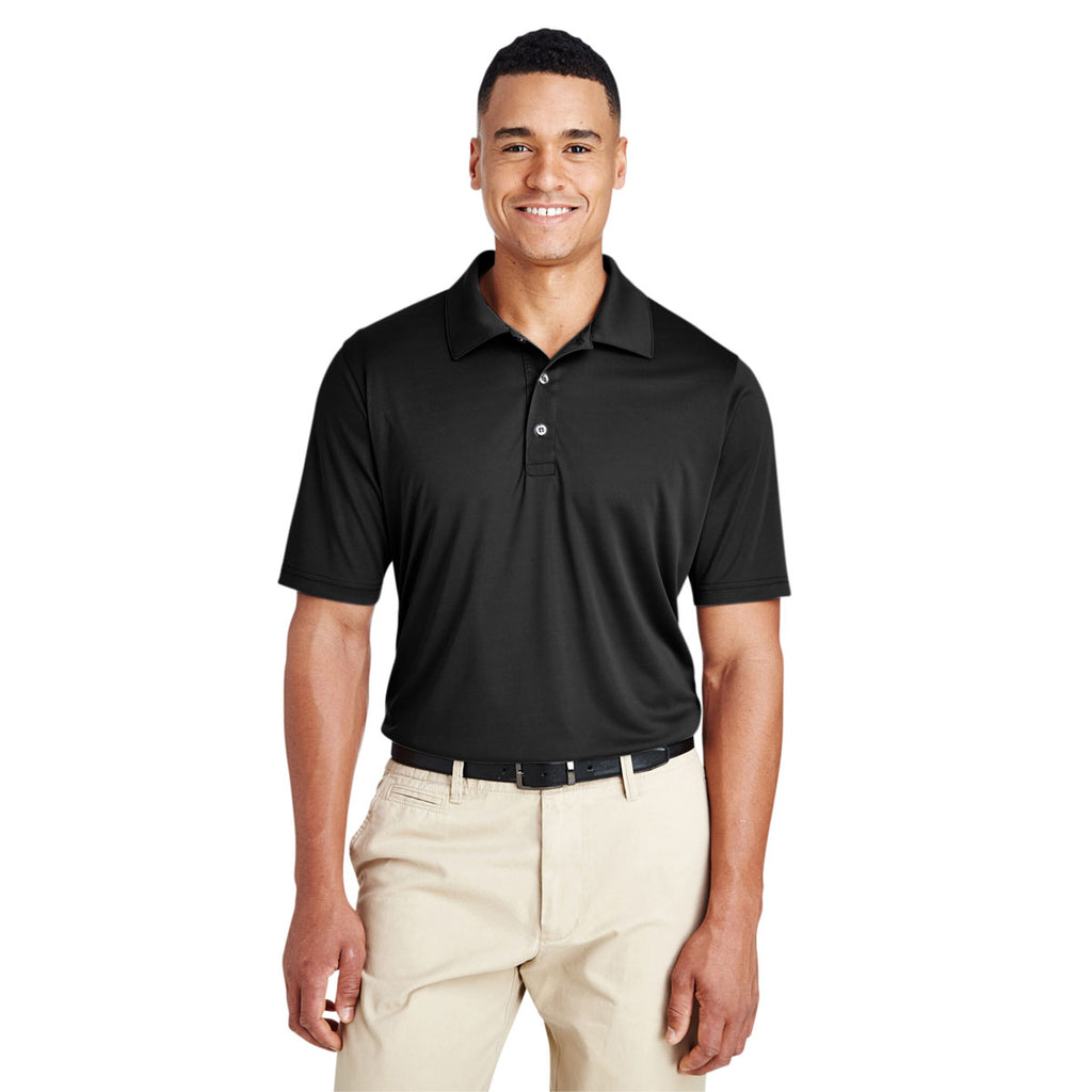 Team 365 Men's Black Zone Performance Polo