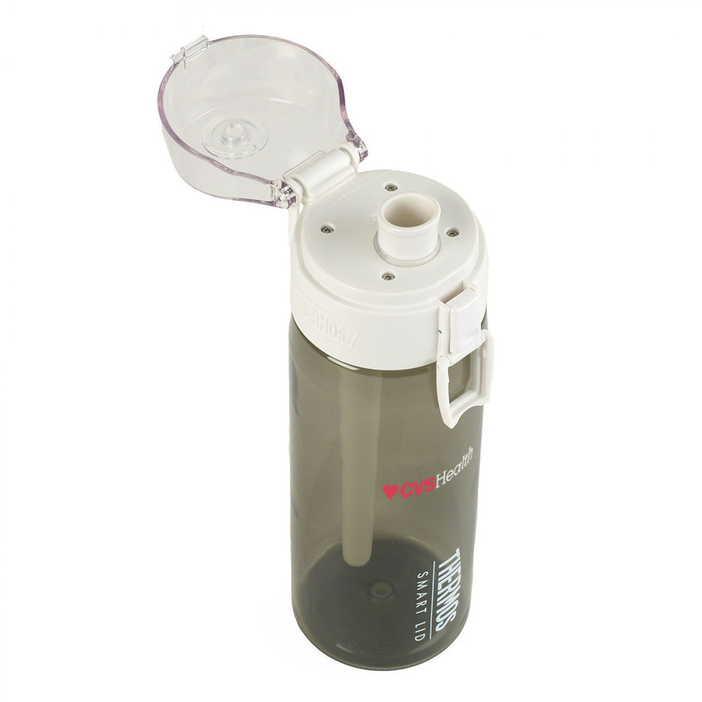 Thermos Smoke Connected 24 oz. Hydration Bottle with Smart Lid