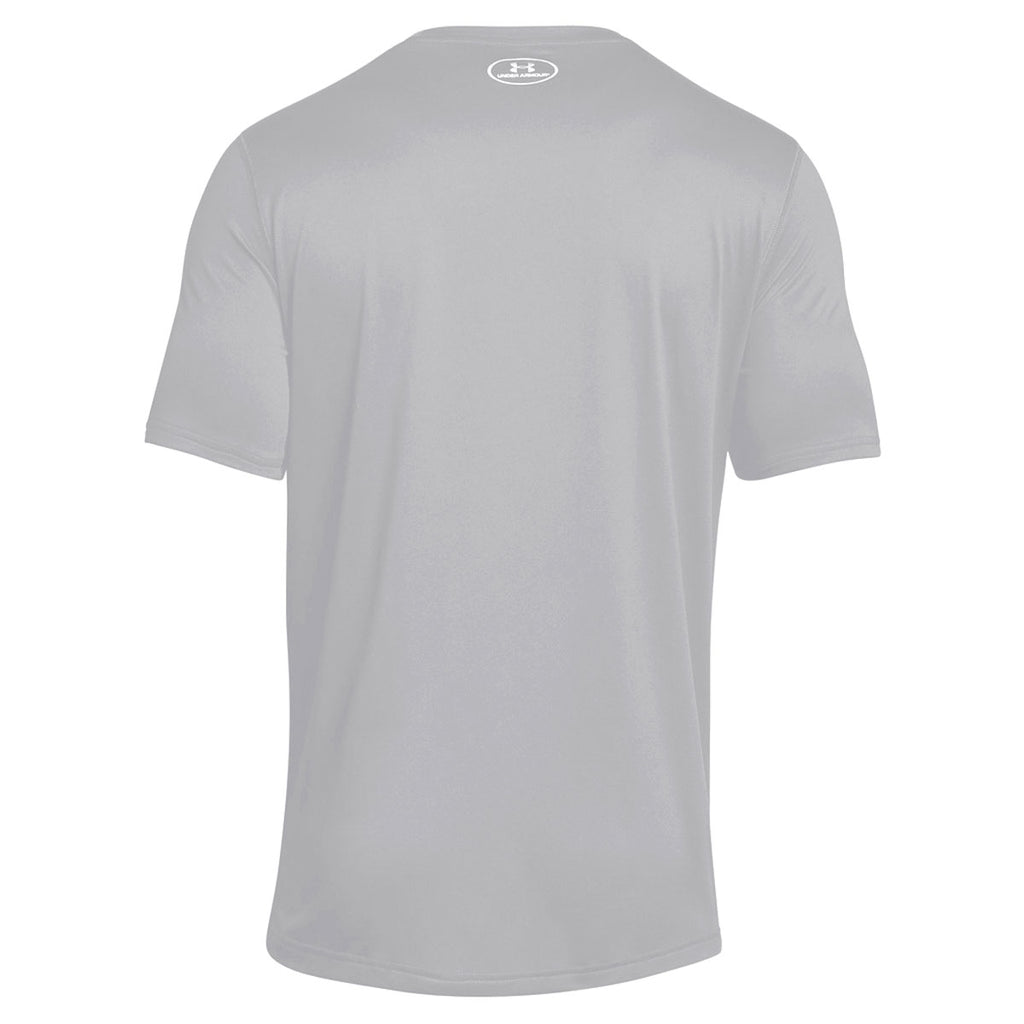 Under Armour Men's True Grey Heather 2.0 Locker Tee