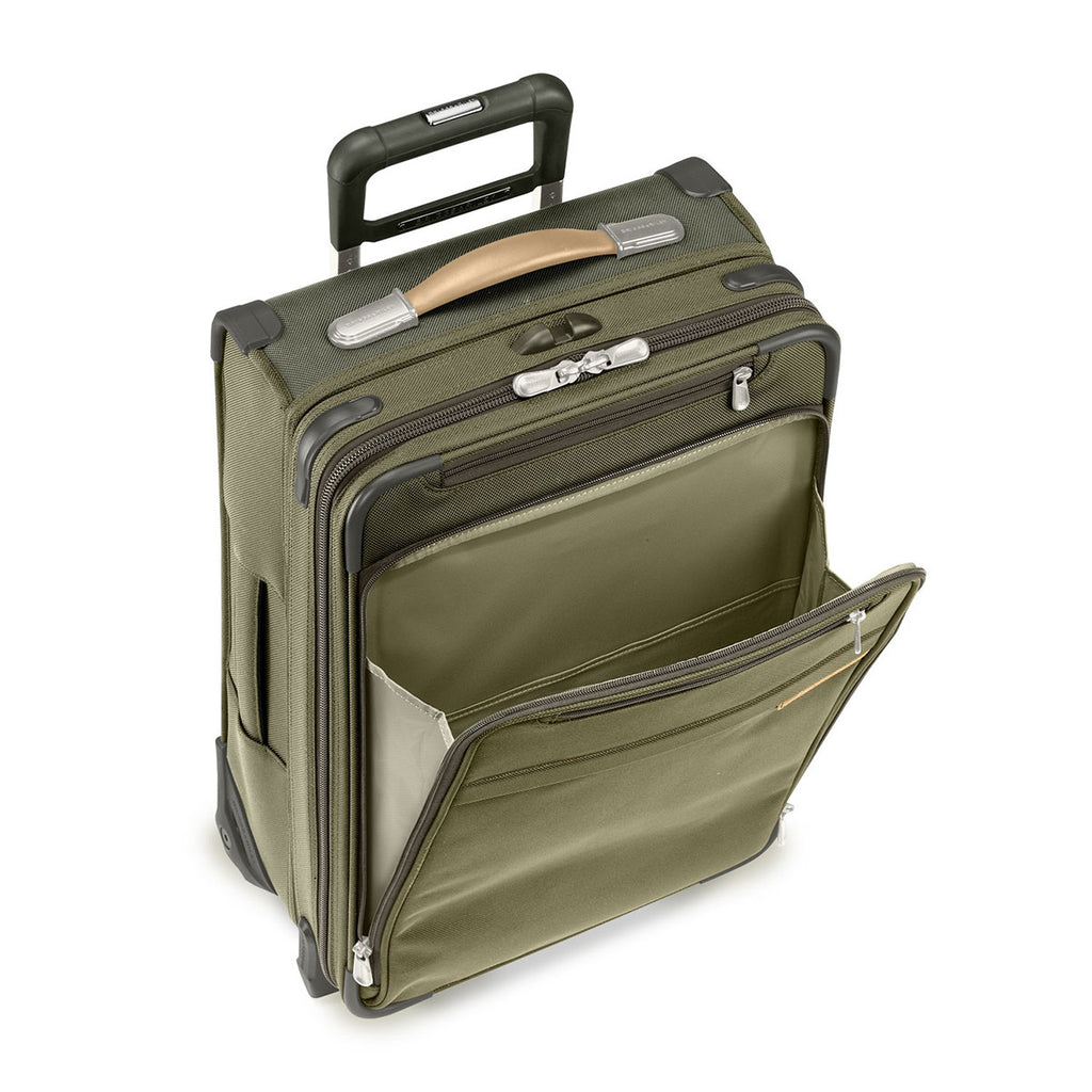 Briggs & Riley Olive Baseline Commuter Expandable Upright