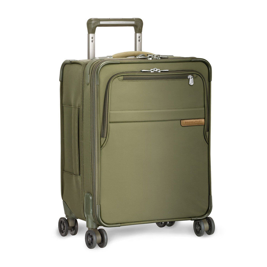 Briggs & Riley Olive Baseline Commuter Expandable Spinner