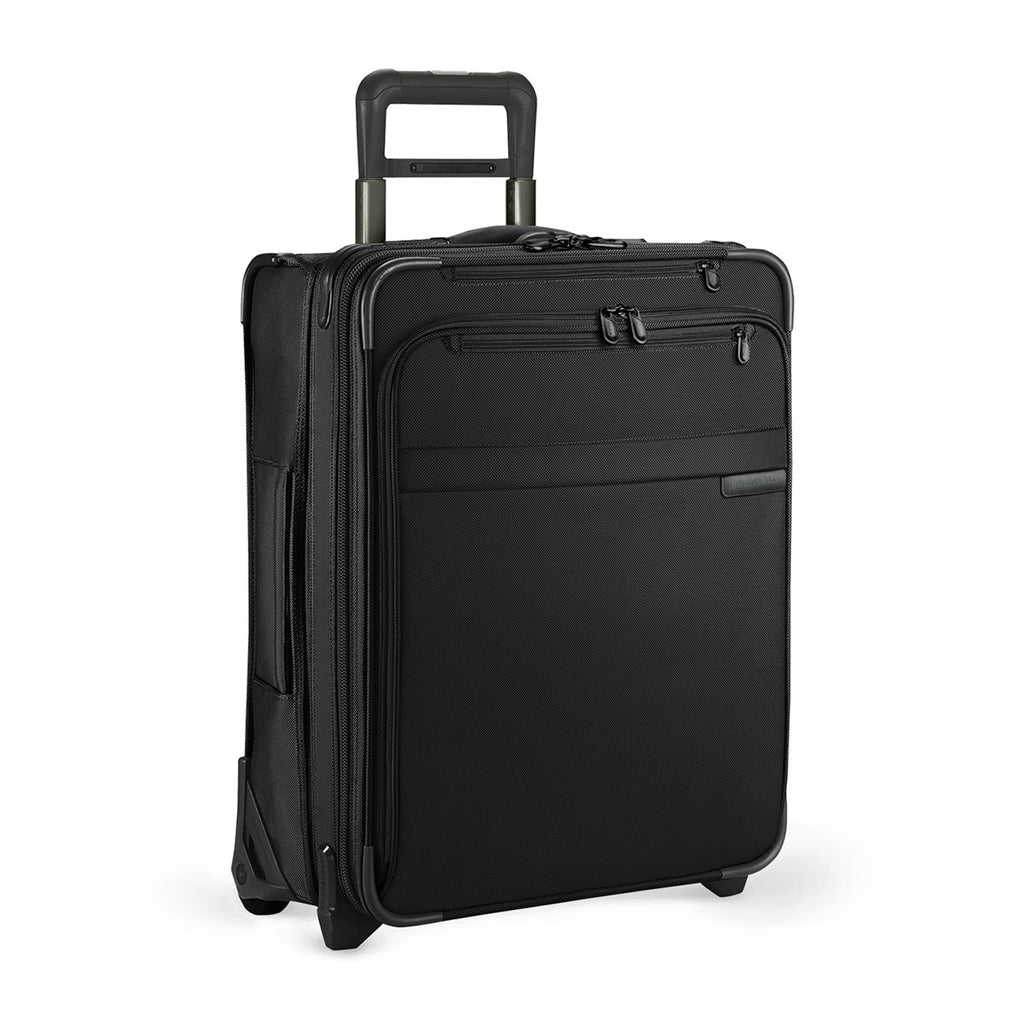 Briggs & Riley Black Baseline International Carry-On Expandable Wide-Body Upright