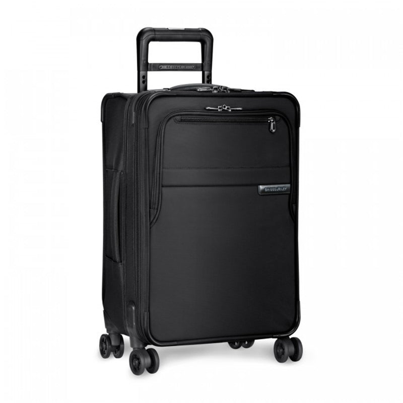 Briggs & Riley Black Baseline Domestic Carry-On Expandable Spinner