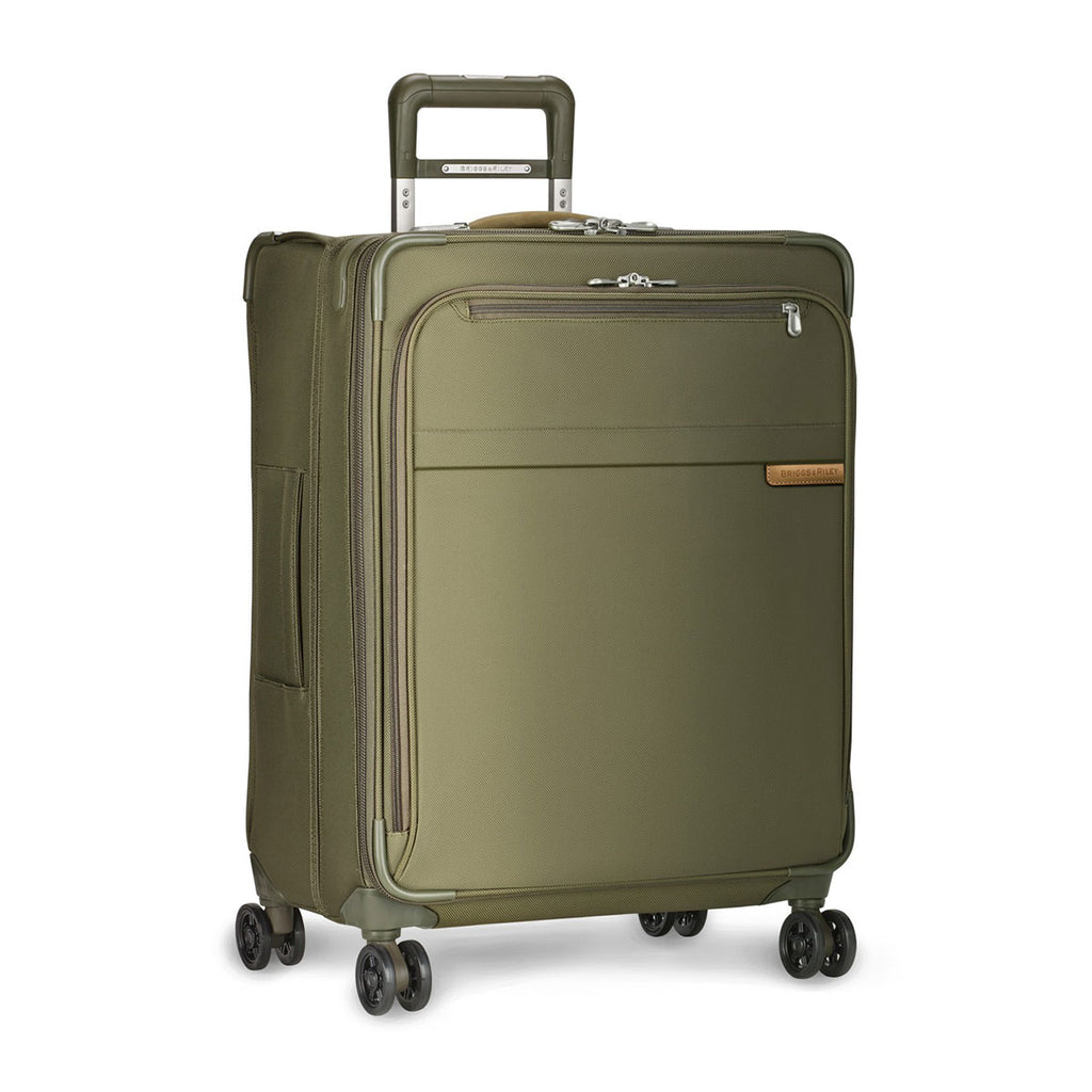 Briggs & Riley Olive Baseline Medium Expandable Spinner