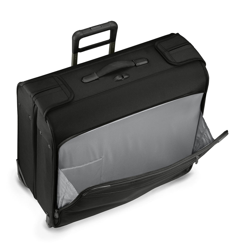 Briggs & Riley Black Baseline Carry-on Wheeled Garment Bag