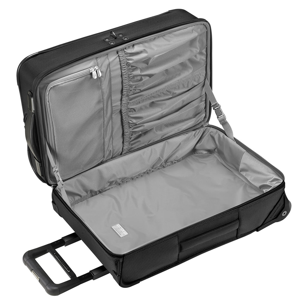 Briggs & Riley Black Baseline Domestic Carry-On Upright Garment Bag