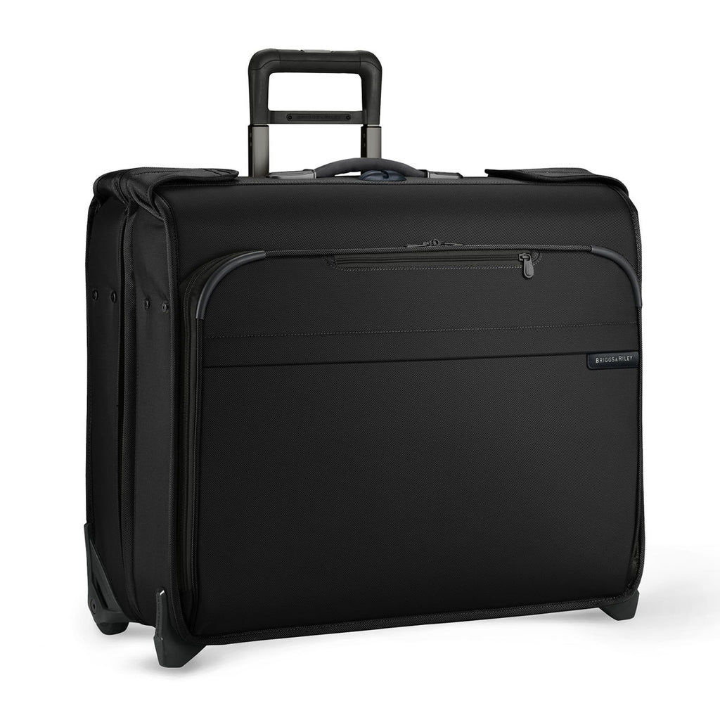 Briggs & Riley Black Baseline Deluxe Wheeled Garment Bag