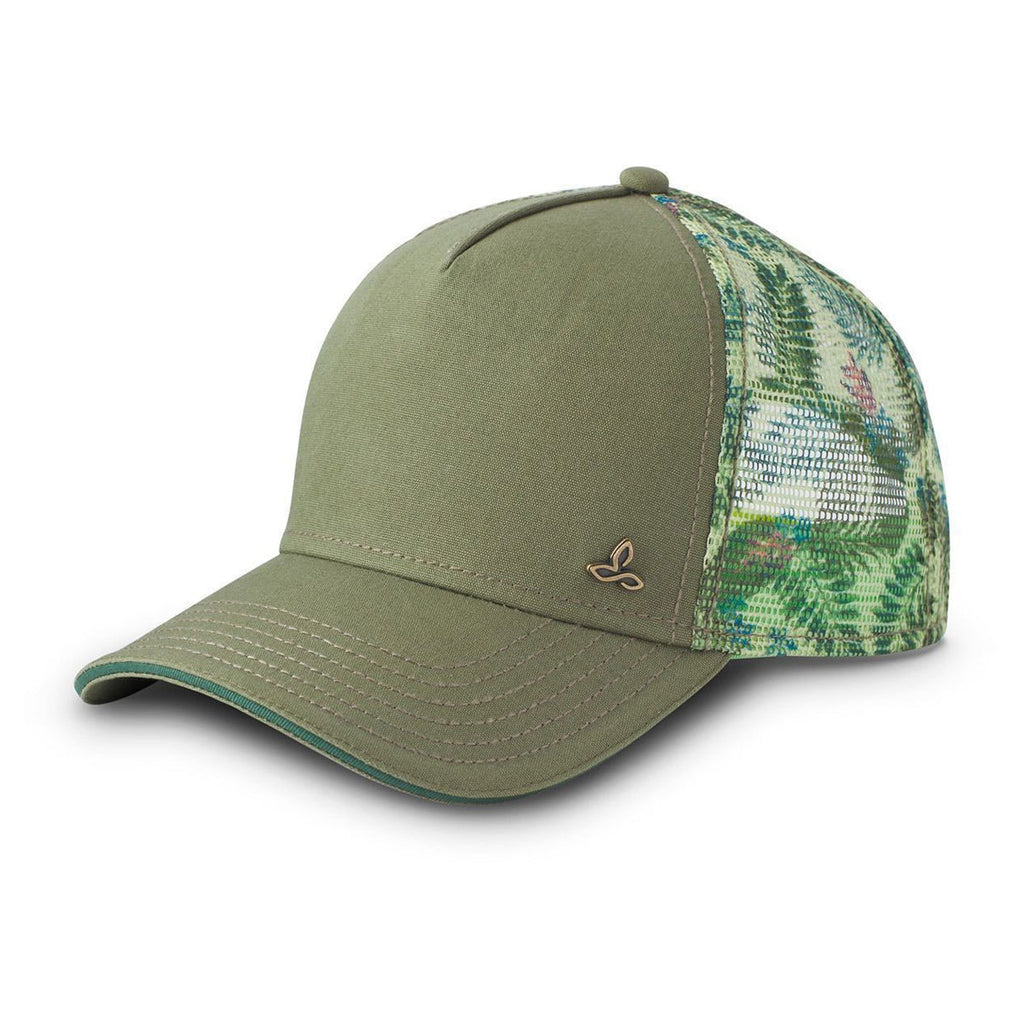 1d37711d74d471 prAna Women's Turtle Green Idalis Trucker Cap. ADD YOUR LOGO