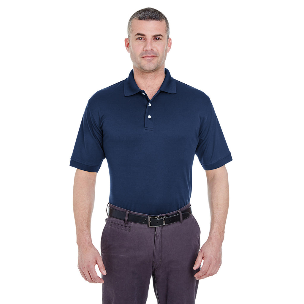U8315 UltraClub Mens Platinum Performance Piqu/é Polo with TempControl Technology