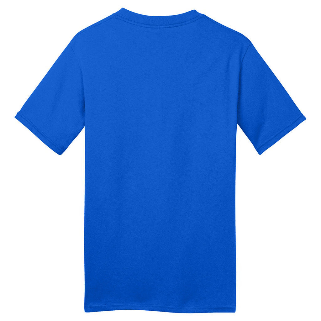 Port & Company Royal Blue Made in USA T-Shirt