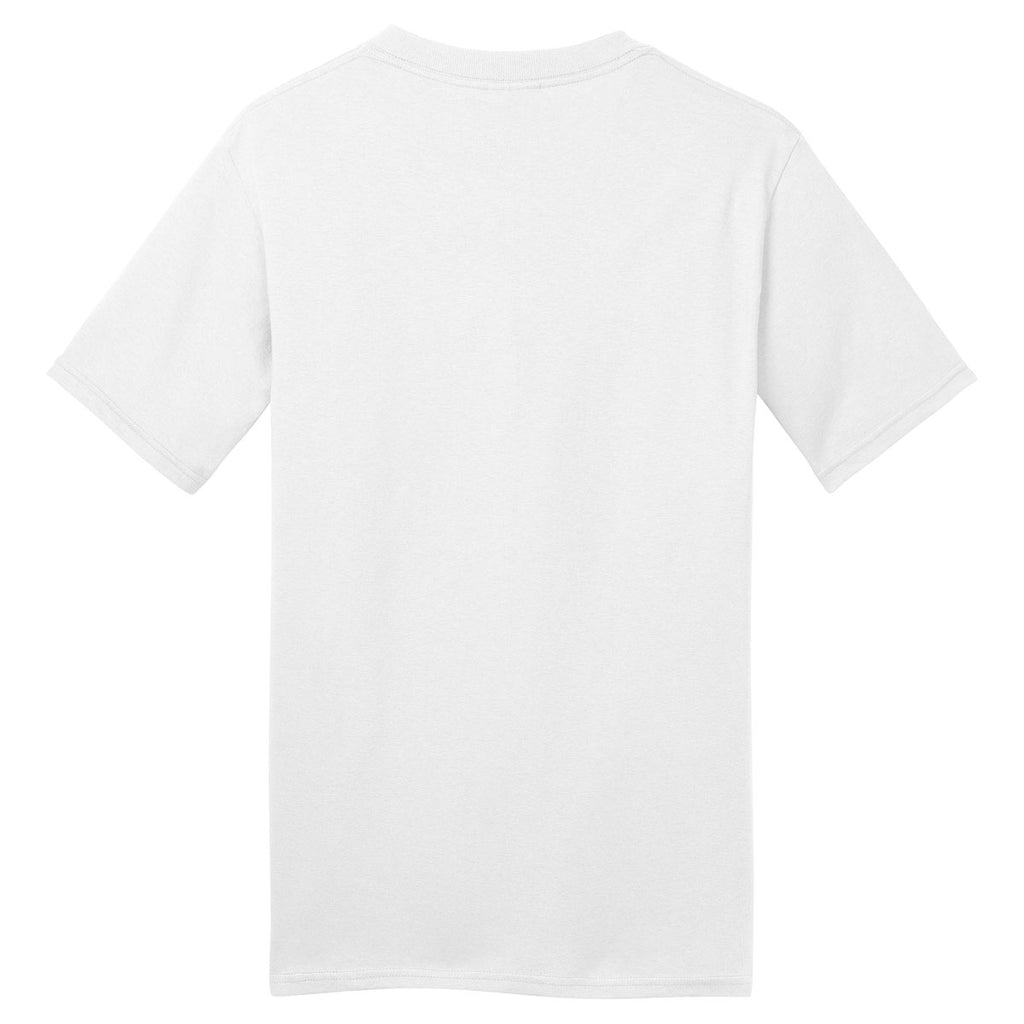 Port & Company White Made in USA T-Shirt