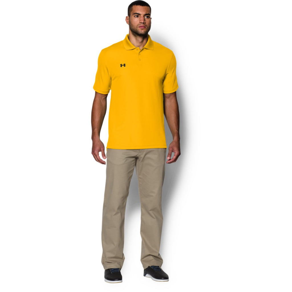 Under Armour Men's Steeltown Gold Performance Team Polo