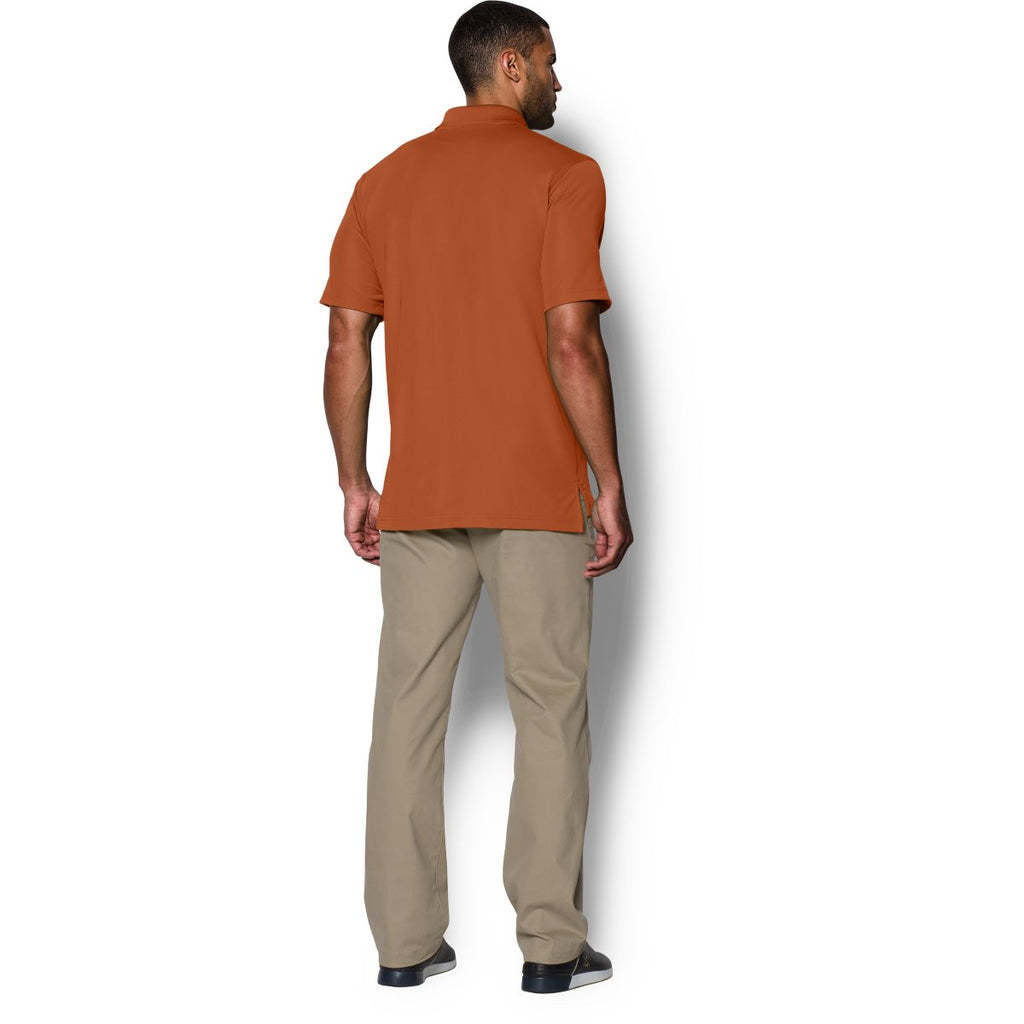 Under Armour Men's Texas Orange Performance Team Polo