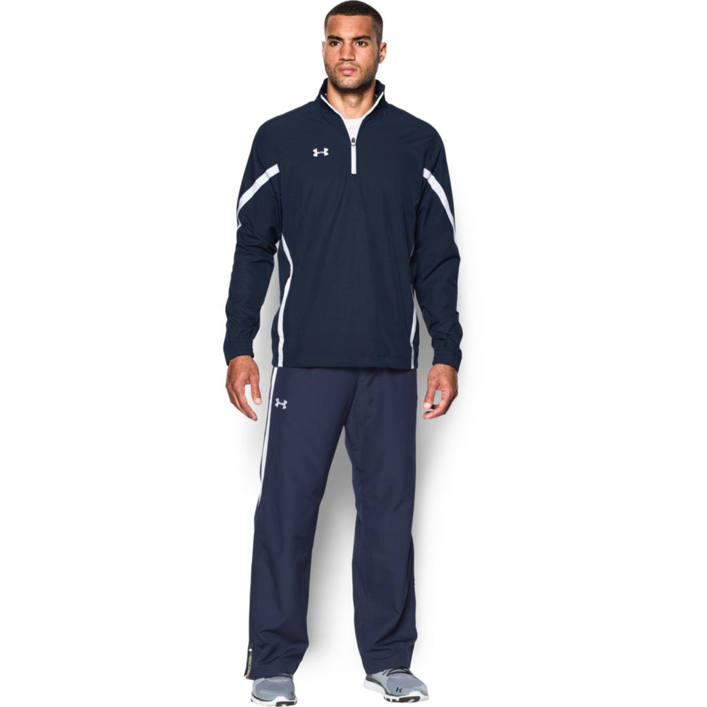 Under Armour Men's Navy Essential Quarter Zip