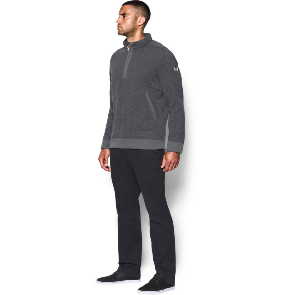 Under Armour Men's Graphite Elevate Quarter Zip Sweater