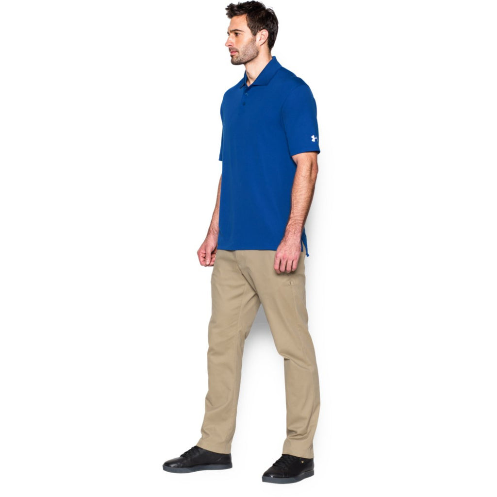 Under Armour Corporate Men's Royal Blue Performance Polo