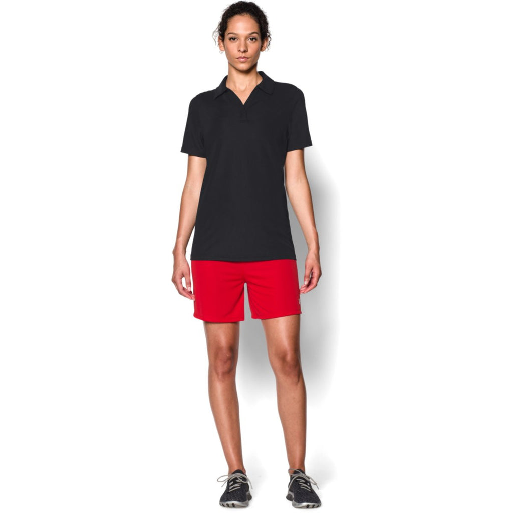 Under Armour Corporate Women's Black Performance Polo