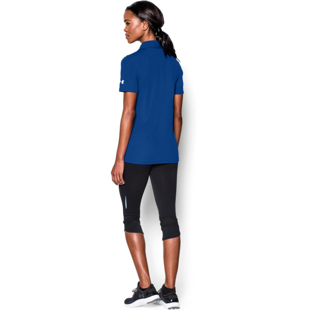 Under Armour Corporate Women's Royal Blue Performance Polo