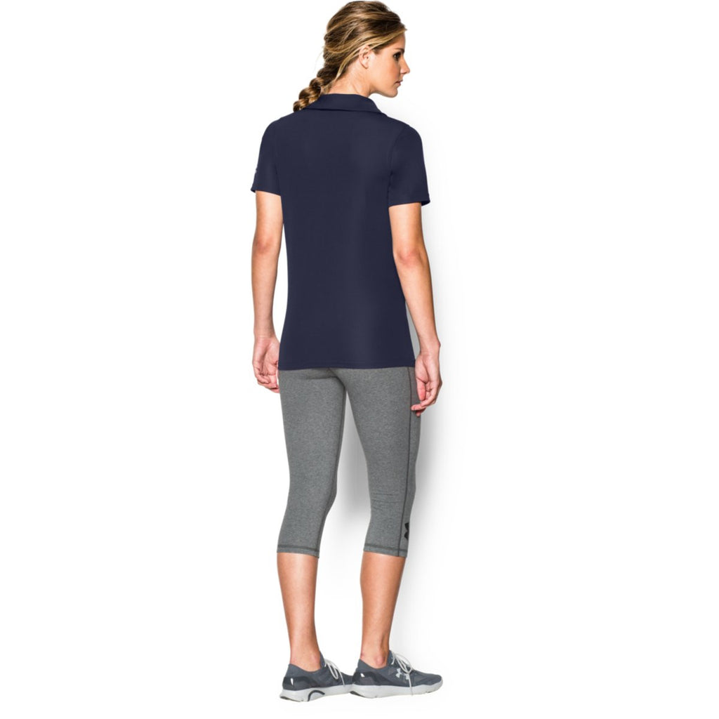 Under Armour Corporate Women's Midnight Navy Performance Polo
