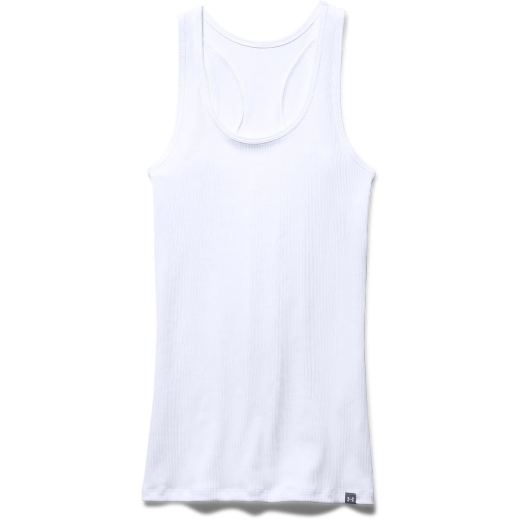 Under Armour Women's White Tech Victory Tank