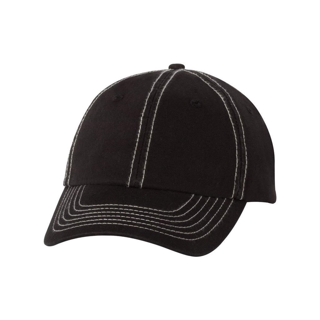 fdf3c9ec544 Valucap Black Stone Classic Dad s Cap. ADD YOUR LOGO