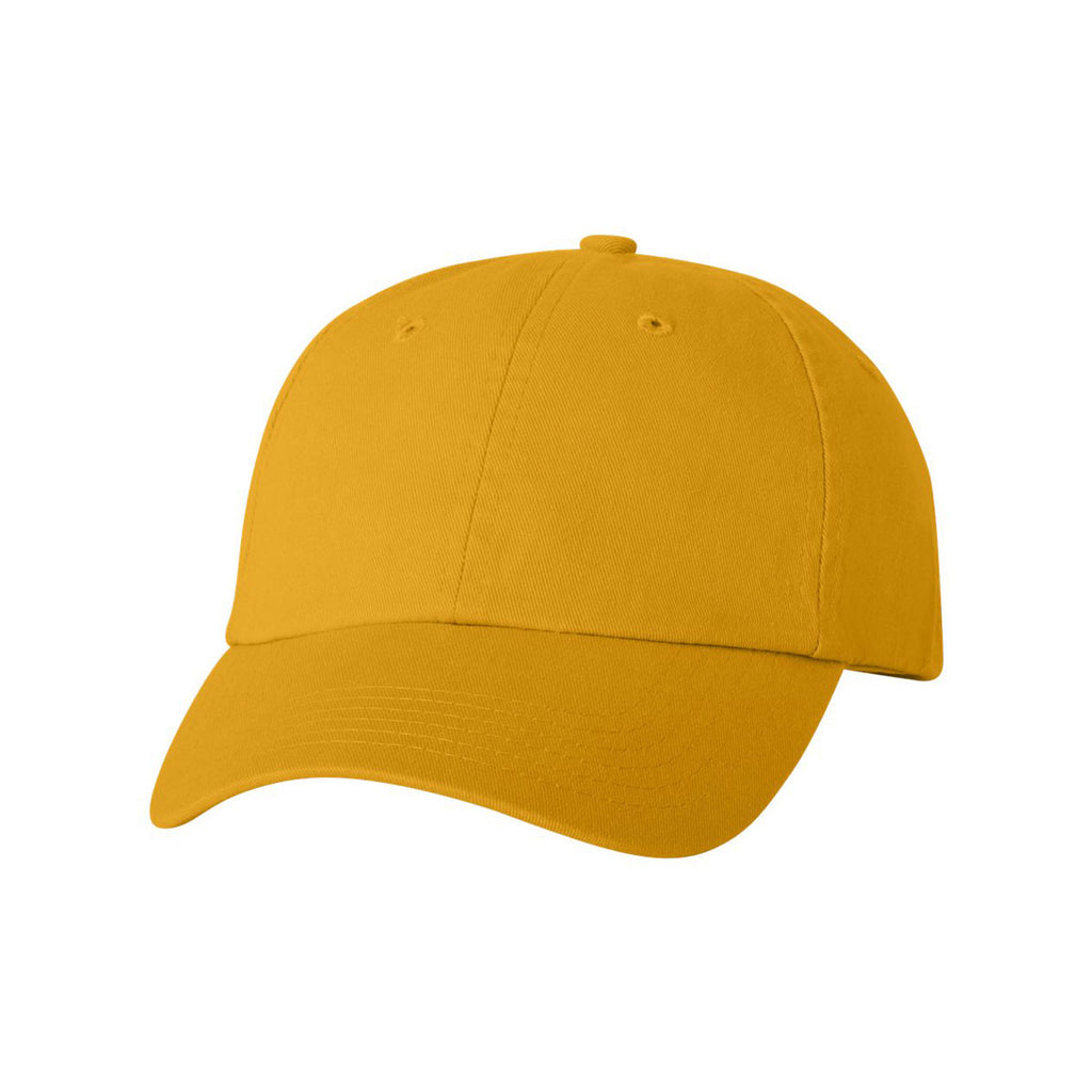 d382dfa3516 Valucap Gold Classic Dad s Cap. ADD YOUR LOGO