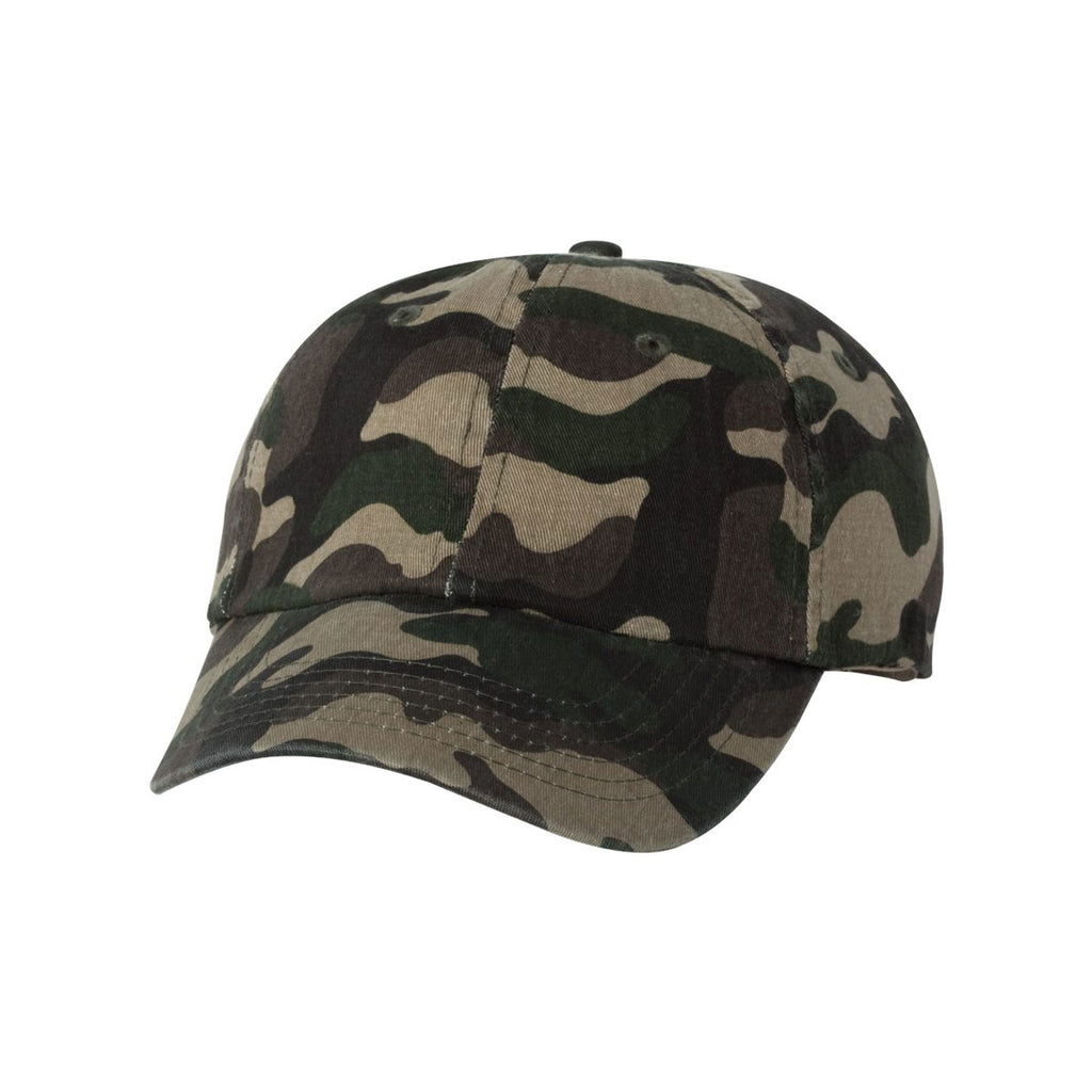 a902a97230e Valucap Green Camo Classic Dad s Cap. ADD YOUR LOGO